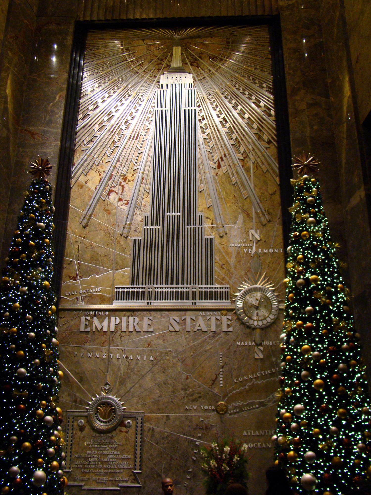 エンパイア・ステート・ビル エントランス Entrance Hall Of The Empire State